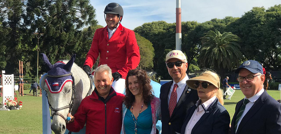 MONTESINOS Y CORNET BOY GANAN LA FEI WORLD CUP DE ARGENTINA